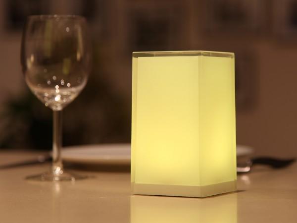 CUB 6er Set LED-Tischleuchten 7,4 x 13,5cm mit SmartMESH® APP Steuerung