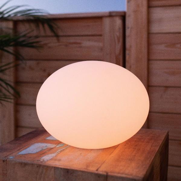 "FLATBALL M wireless outdoor led-lamp Ø35cm x 27cm ""APP-control"""
