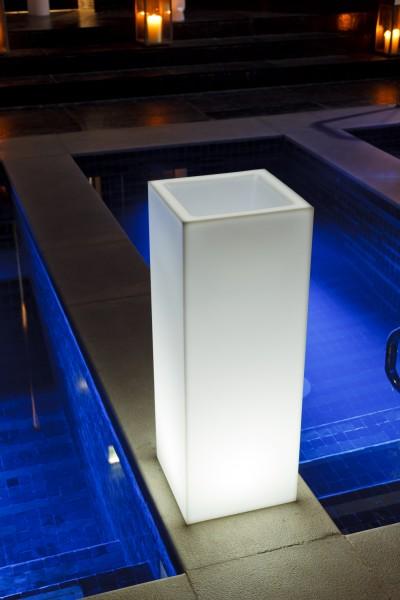 """MAMBO -Ausstellungsstück - LED-Lichtobjekt 30x30x80cm """"App-control"""""""