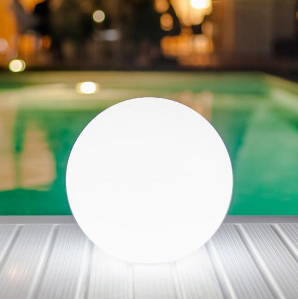 "PEARL kabellose Outdoor-Leuchte Ø25cm ""App-control"""
