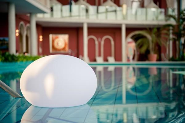 "FLATBALL L wireless led-lamp Ø50cm x 36cm ""APP-control"""