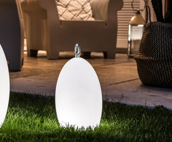 "AMANDE LED design-lamp Ø23,3x28cm BULBLITE ""APP-control"""