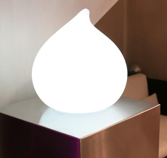 """DEW - Ausstellungsstück - kabellose LED Leuchte Ø30x28cm """"App-control"""""""