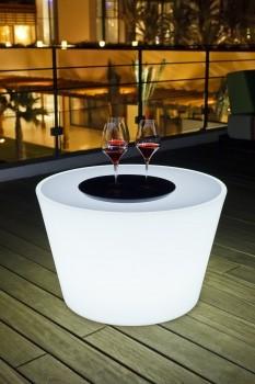 "BASS LED lounge table BULB ""APP-control"""