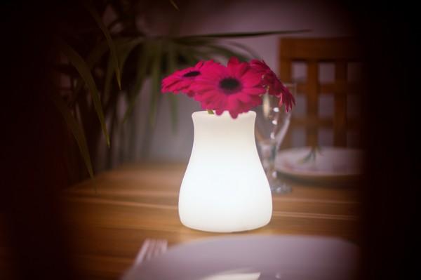 "OLIO cordless waterproof led vase Ø11x13cm ""APP-control"""