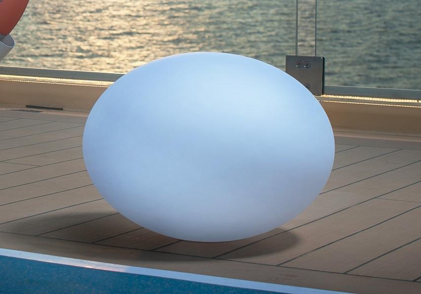 Flatball-LED-Gartenleuchte
